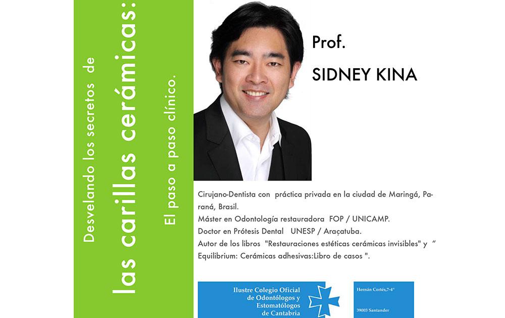 """Curso «Desvelando los secretos de las carillas cerámicas"""" del Dr. Sidney Kina"""