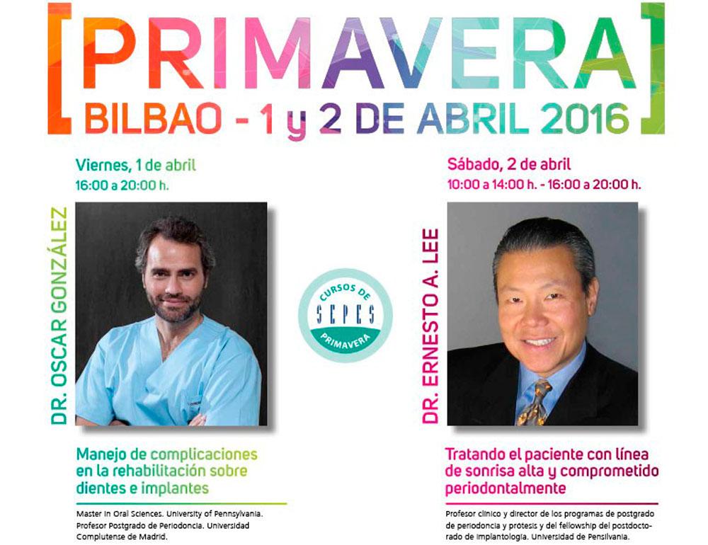 Curso Sepes Primavera sobre implantología